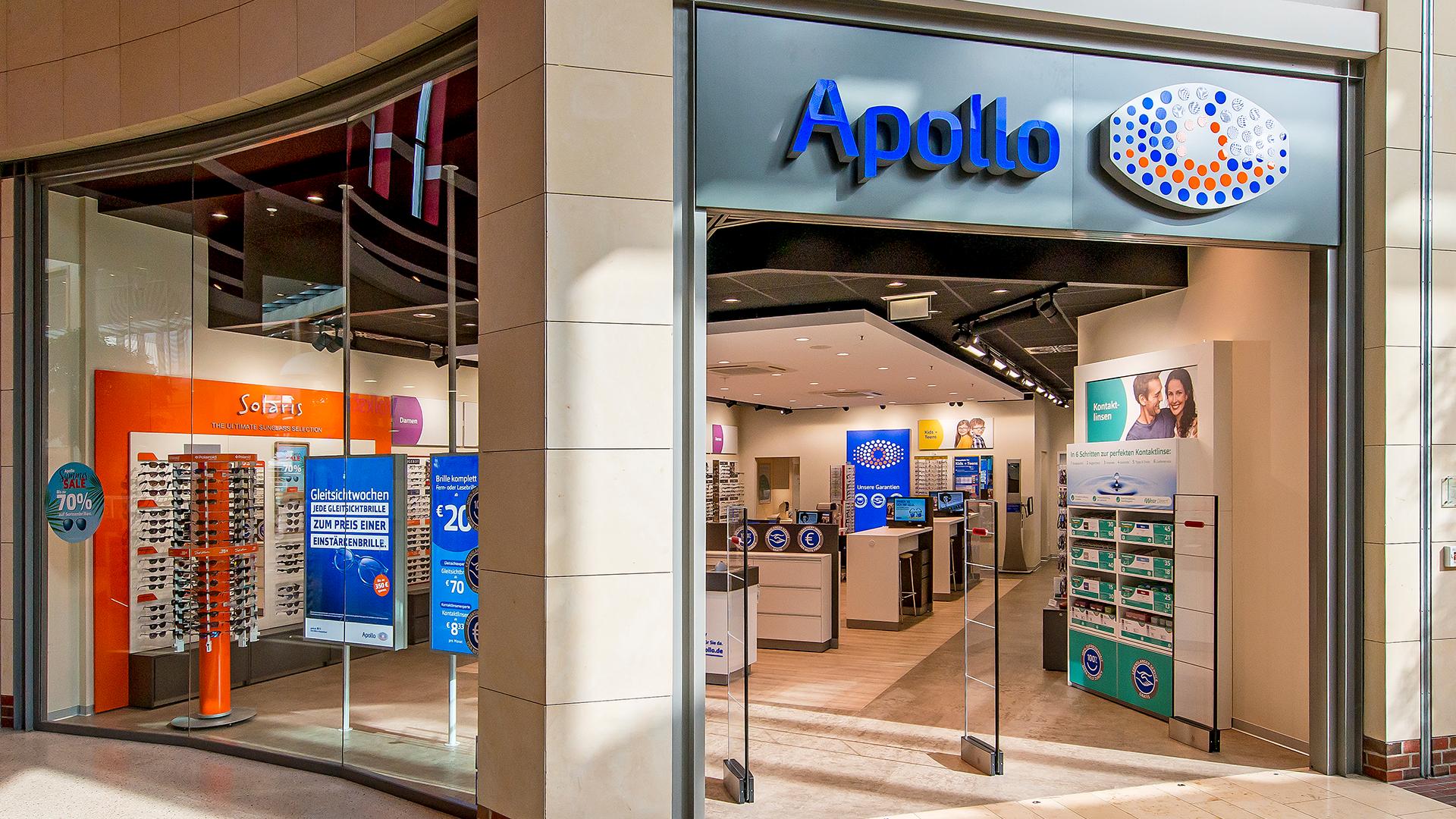 sehen schön und charmant Dauerhafter Service Apollo Optik - LOOKENTOR - Die Shopping-Galerie im Herzen ...